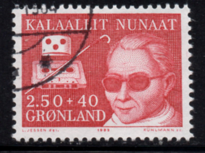 Greenland  Scott  B11 1983 Handicapped stamp used