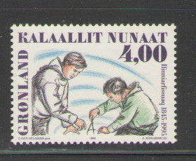 Greenland Scott  287 1995 Training College mint NH