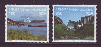 Greenland Scott  289-90 1995 Tourism stamp setmint NH