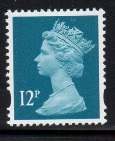 Great Britain  Scott  MH347 2006 12p blue green Machin head stamp mint NH