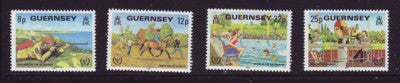 Guernsey Scott  232-5 1981 International Year of the Disabled stamp set mint NH