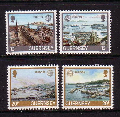 Guernsey Scott  260-3 1983 Europa stamp set mint NH