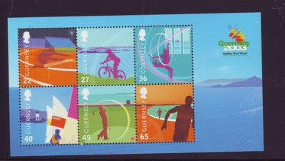 Guernsey Scott  800a 2003 Island Games stamp sheet mint NH