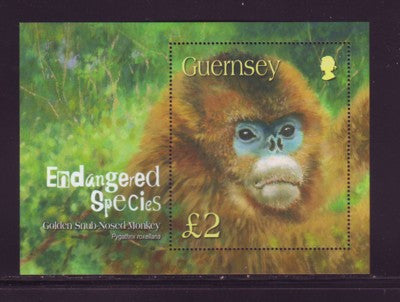 Guernsey Scott  816 2004 Endangered Species stamp sheet mint NH
