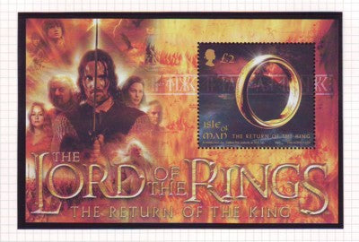 Isle of Man Scott  1021 2003 Lord of the Rings stamp sheet mint NH