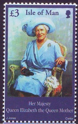 Isle of Man Scott  948 2002  Queen Mother Memorial stamp mint NH