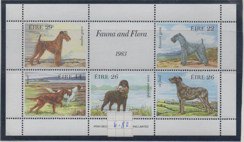 Ireland Scott 567a 1983 Dogs stamp sheet mint