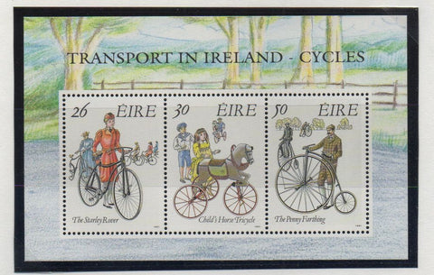Ireland Scott 826a 1991 Cycling stamp sheet mint