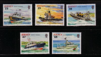 Jersey Scott  1013-17 2002 State Vessels stamp set mint NH