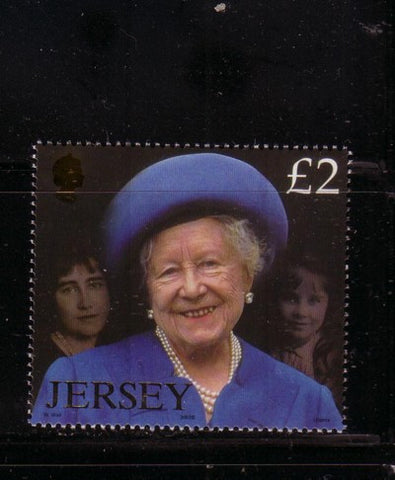 Jersey Scott  1041 2002  Queen Mother Memorial stamp mint NH