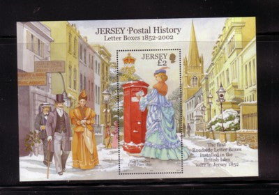Jersey Scott  1062 2002 Letter Boxes stamp sheet mint NH