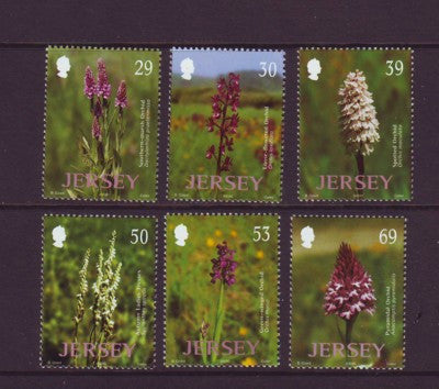 Copy of Jersey Scott  1078-83 2003 Wild Orchids stamp set mint NH