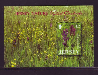 Jersey Scott  1084 2003 Wild Orchids stamp sheet mint NH