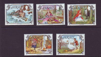 Jersey Scott 1156-60 2005 Fairy Tales set mint NH