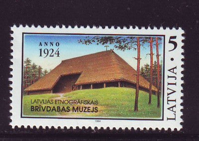 Latvia Scott 361 1994 Ethnographic Museum stamp mint NH