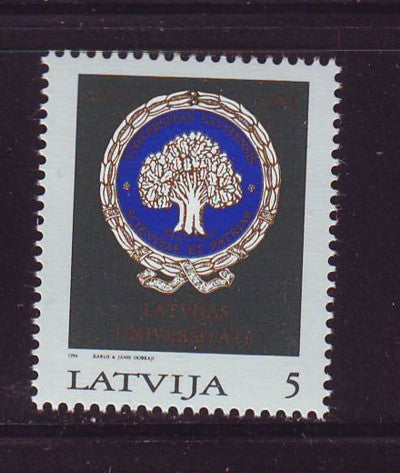 Latvia Scott 378 1994 75th Anniversary of Latvia stamp mint NH