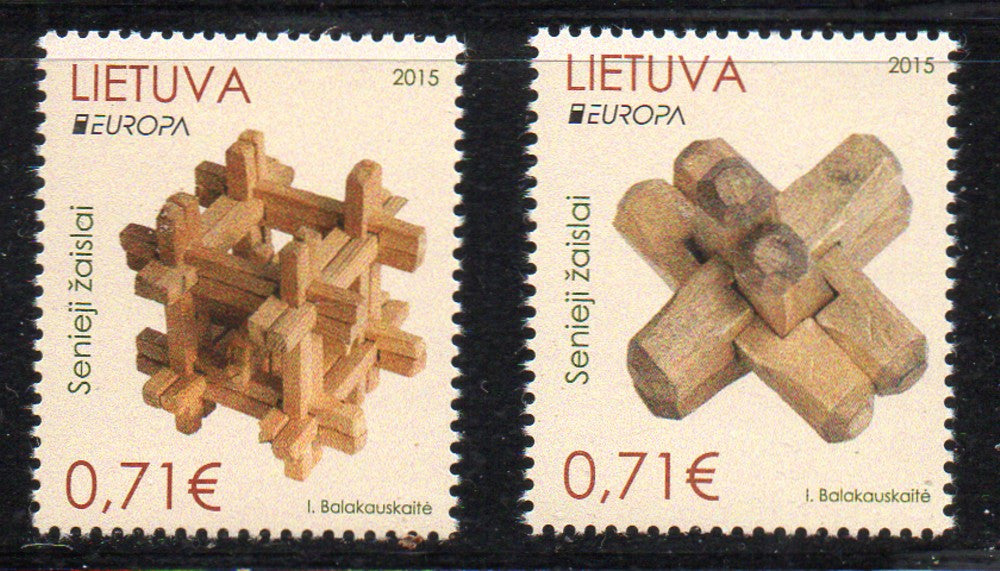 Lithuania Sc 1050-1 2015 Europa stamp set mint NH