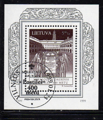Lithuania Sc  621 1999  Postile stamp sheet used