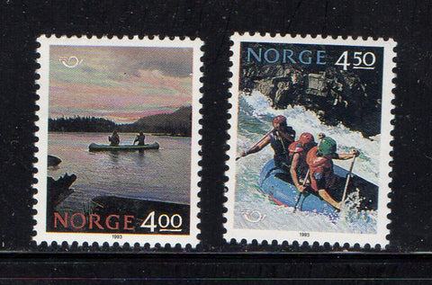 Norway Scott  1036-7 1993 Norden stamp set mint NH