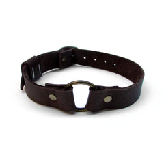 O-RING Leather Collar