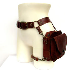ENTERPRISE Leather Belt Bag