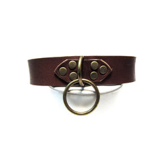 JUPITER Leather Collar