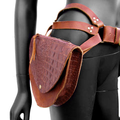BIOMORPH Leather Holster & Belt Bag