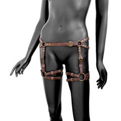 GENESIS Leather Garter Belt