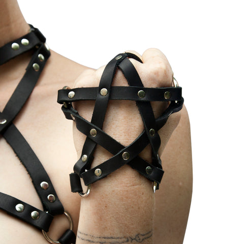 PENTAGRAM Leather Glove
