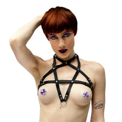 PENTAGRAM Leather Harness - New!