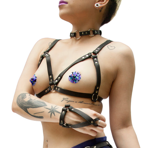 CALLISTO Leather Harness - New!