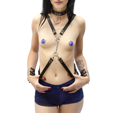DUNGEONEER Leather Harness