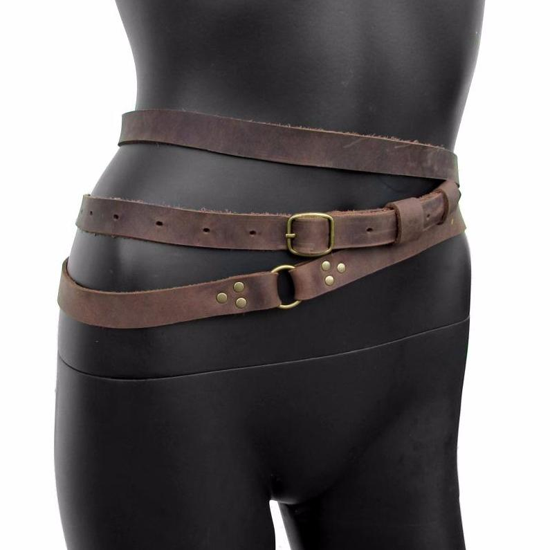 TRIPLE WRAP Leather Belt