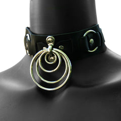 SATURN Leather Collar - New!