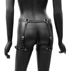 ESSENTIAL Leather Garter Belt - New!