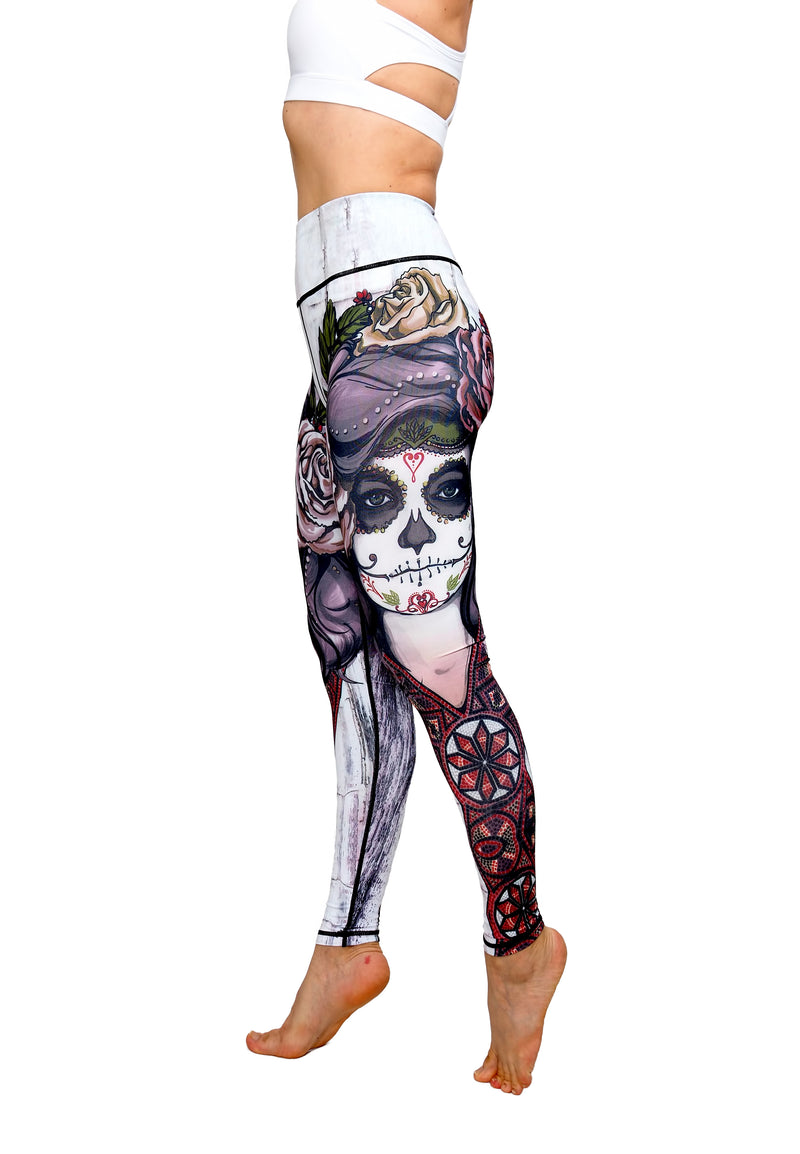 Printed Tummy Control Leggings Printed Leggings for Women Yoga Leggings High Waist Tummy Control Yoga Pants Fitness Pants