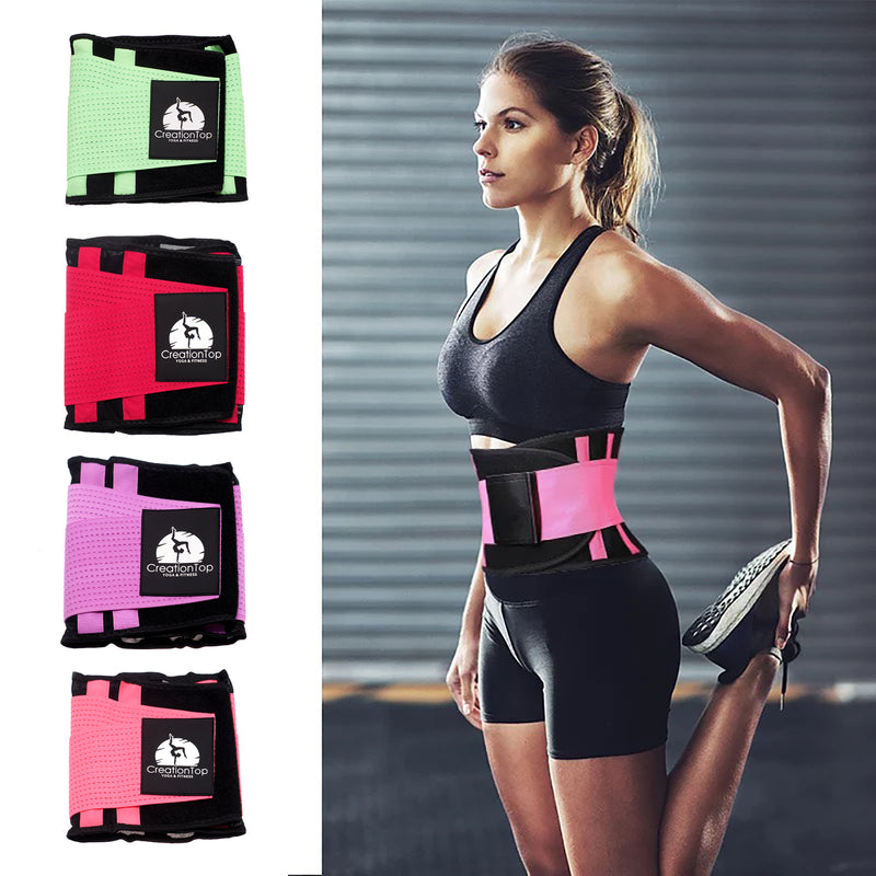 Adjustable Mesh Fitness Belt, Pain Relief - Breathable & Lightweight Material - Wide Support - for Lifting, Work, Gym