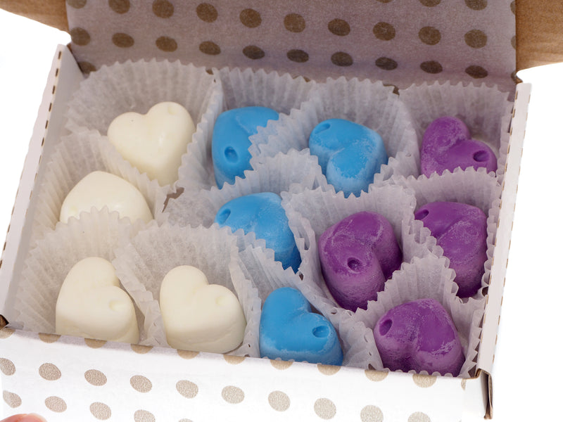 Scented Wax Melts Wax Cubes - Wax Warmer Cubes - Luxury Gift Box - Soy Wax Air Freshener - Freshness, Flower Arrangement. Fruit Cocktail, Perfume, Christmas Night (Flower Arrangement)