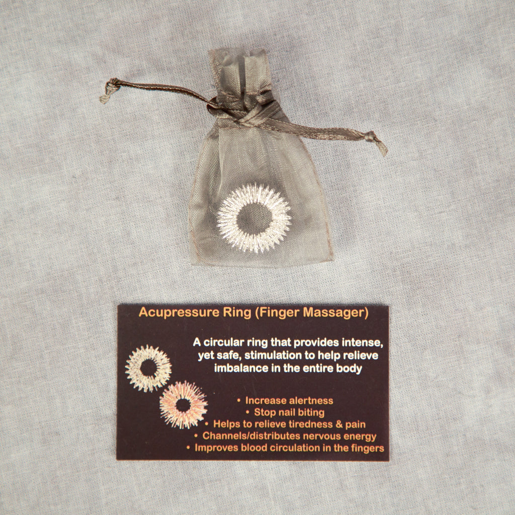 Acupressure Ring - Set of 10 - FREE SHIPPING