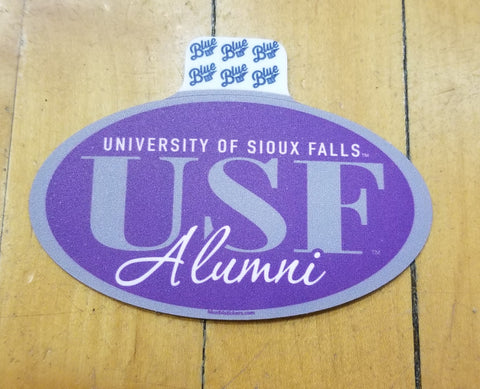 Blue 84 Alumni Sticker