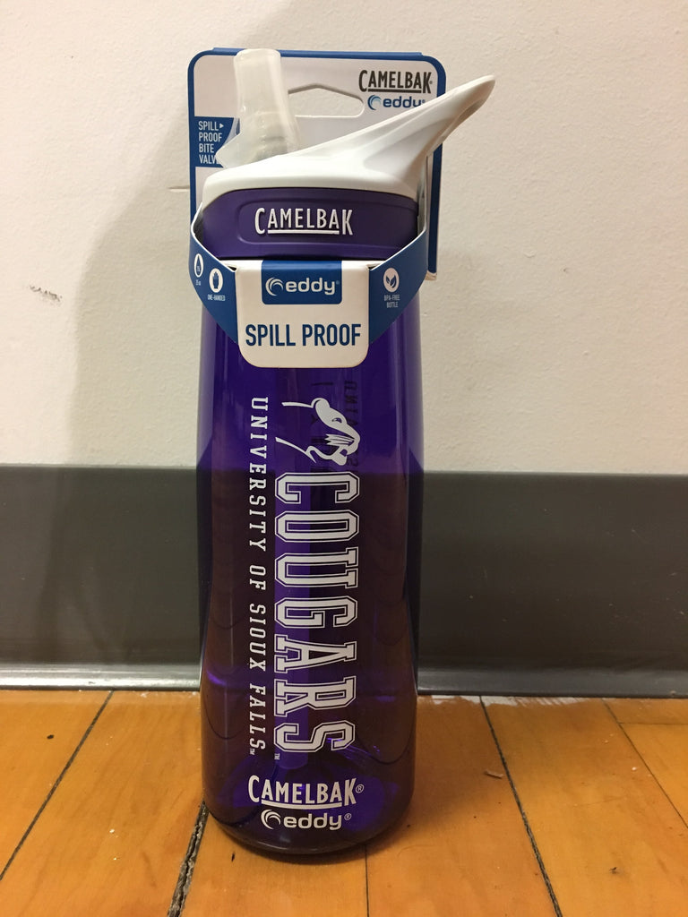 Camelbak Purple Eddy Water Bottle