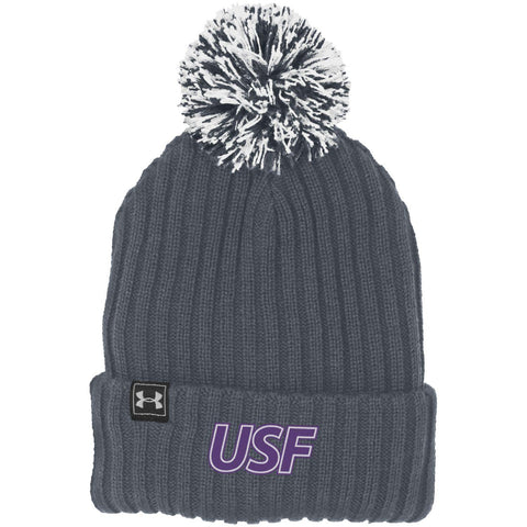Under Armour Youth Fundamental Pom Stocking Hat