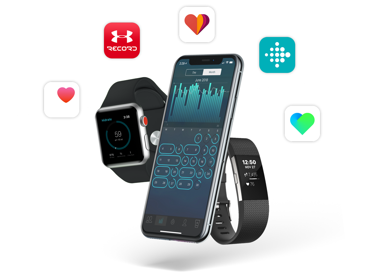 Syncs With Fitbit Apple Watch Health Under Armour Record Nokia Mate