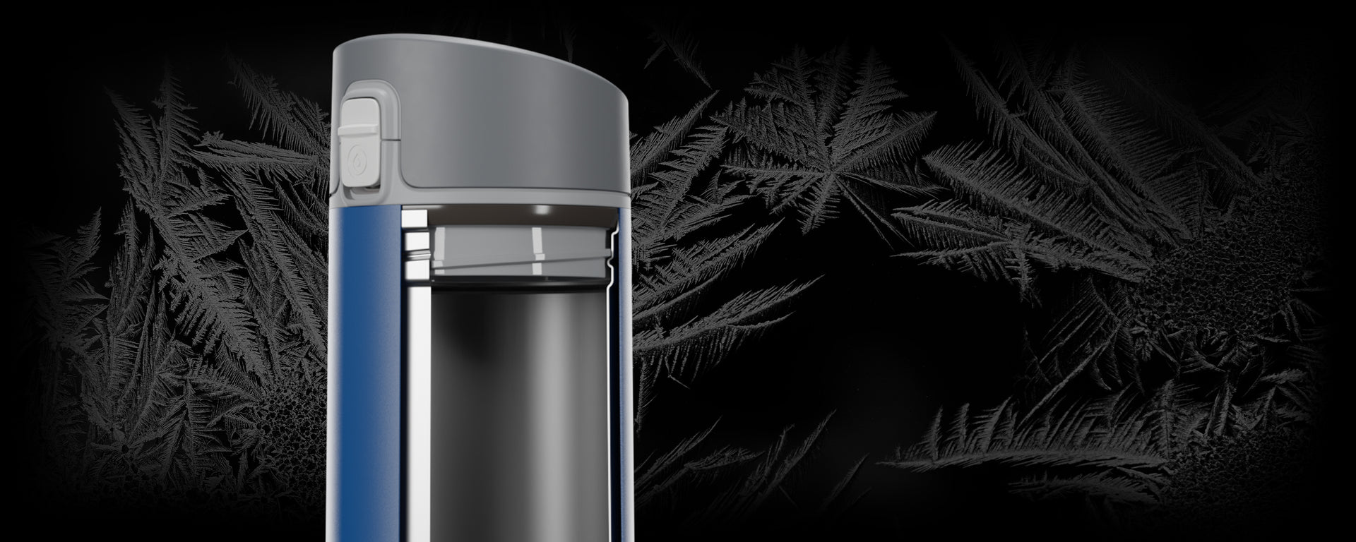 HidrateSpark STEEL's new double walled vacuum insulated stainless steel interior.