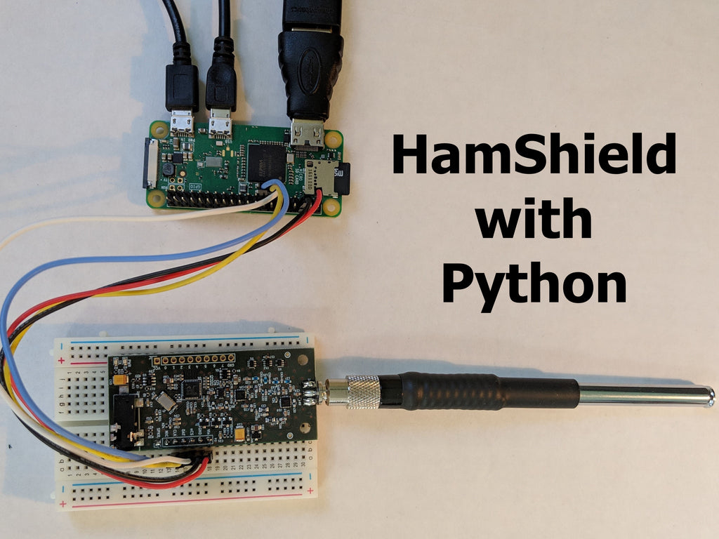 Six new examples for HamShield with Python