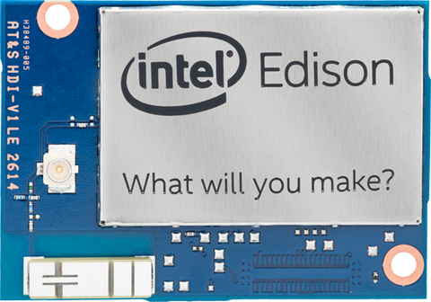 Intel Edison w/ Jubilinux (Refurbished)