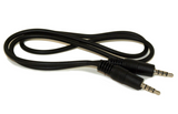2 foot TRRS cable, male to male