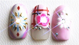 NFC Powered LEDs for Nail Art and More