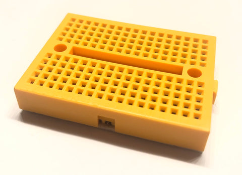 Mini Breadboard (Yellow)
