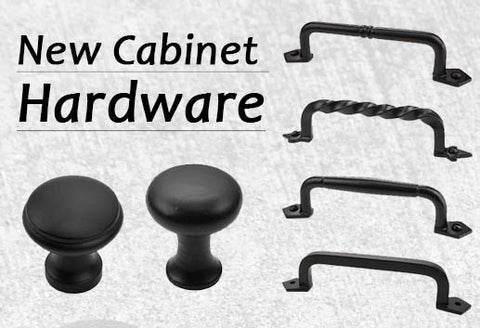 Cast Iron Cabinet Hardware - Cast Iron Cabinet Handle Pulls & Cast Iron Cabinet Knobs